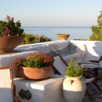 Main bay and Cretan pots at Melenos